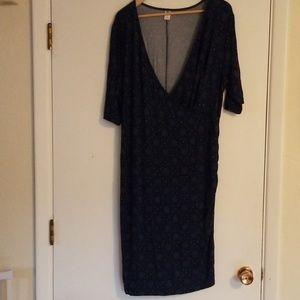 XL, bodycon Maternity Dress